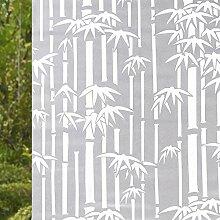 RENQINGLIN Selbstklebende Verdickung Von Fenstern Und Türen Fenster Aufkleber Aufkleber Wc Milchglas Fenster Glas Film 45 Cm*5 M, B