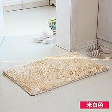 RENQINGLIN Türmatten Bad Bad Rutschfeste Fußauflage Vakuumsauger Schlafzimmer Wohnzimmer Tür Mat 40 * 60 Cm, B