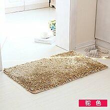RENQINGLIN Türmatten Bad Bad Rutschfeste Fußauflage Vakuumsauger Schlafzimmer Wohnzimmer Tür Mat 40 * 60 Cm, D