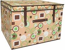 RENQINGLIN Wasserdicht Pink Sammeln Und Schlichten Box Zimmer Moving Storage Tank 40 * 40 * 25 Cm, D