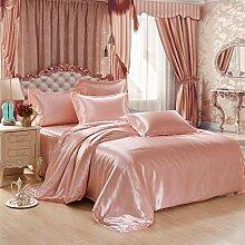 RenshenX 4 teilig Bettwäsche mit modernen Motiv -