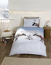 Rentier Pullover Weihnachten Einzelbett Bettbezug