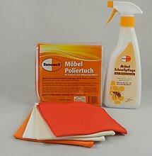 Renuwell Spar-Set Poliertuch 4 Stk. + 500 ml