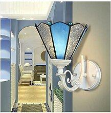 RENYAFEI Bett Wandleuchte Tiffany Wandlampe Modern