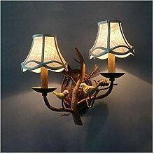 RENYAFEI Das BüGeleisen Wandlampe Amerikanisch