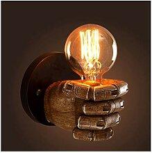 RENYAFEI Haushalt Wandleuchte Harz Wandlampe Licht