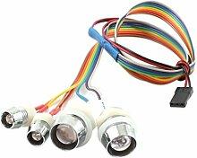 Reparieren 4LED Blitzen-Licht-Lampe für RC-Cars Buggy-Boots-Fläche