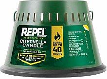 Repel Citronella Triple Docht Kerze Packung mit 1