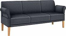 reposa Sofa Cottage Webstoff, 216 cm, 3-Sitzer