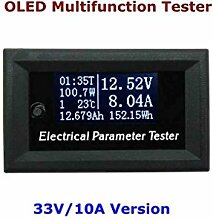 Republe 33V 10A 7in1 OLED Multifunktions-Tester