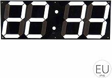 Republe Große Digitale Wanduhr LED für Home
