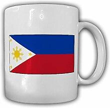 Republik der Philippinen Fahne Flagge Kaffee Becher Tasse #13862