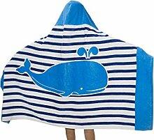 Repuhand Kinder 100% Baumwolle Strand Badetuch mit