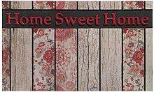 Residence Fußmatte, Motiv Home Sweet Home, 45 x