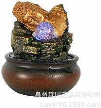 Resin Home Handwerk Resin Buddha Statue Kleiner