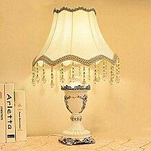 Resintable Lampe, Hausbettzimmer Nachttisch-Lampe,