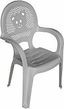 Resol Kinder Gartenstuhl - Kunststoff - Weiß - Kindermöbel (1 Stuhl)