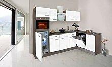 respekta Economy L-Form Winkel Küche Küchenzeile