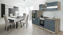 respekta Einbau Küche Küchenleerblock 300 cm