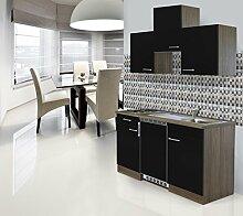 respekta Einbau Single Küche Küchenblock 150 cm