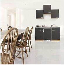 respekta KB150BG Küche Küchenzeile Küchenblock