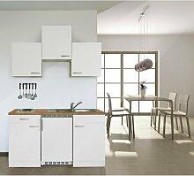 respekta KB150WW Single Küche Küchenzeile