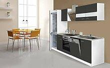 respekta Küche Küchenzeile Küchenblock 280 cm