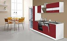 respekta Küche Küchenzeile Küchenblock 310cm