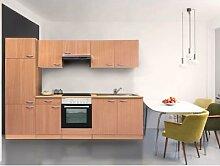 respekta Küchenblock 270 cm Buche (Buche,