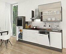 respekta Küchenleerblock Hochbau 280 cm Eiche