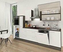 respekta Küchenleerblock Hochbau 310 cm Eiche