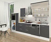 respekta Küchenleerblock Hochbau 310 cm Weiß