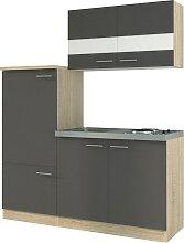 RESPEKTA Küchenzeile Gand, mit E-Geräten, Breite