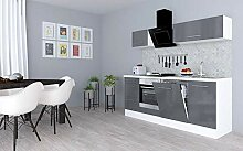 respekta Küchenzeile Küche Küchenblock