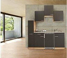 respekta Küchenzeile Küchenblock Single Küche