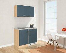 RESPEKTA Küchenzeile, mit Duo-Kochplattenfeld und