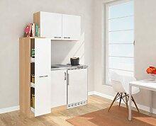 RESPEKTA Küchenzeile, mit Duo-Kochplattenmulde