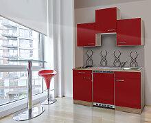 RESPEKTA Küchenzeile, mit E-Geräten, Breite 150
