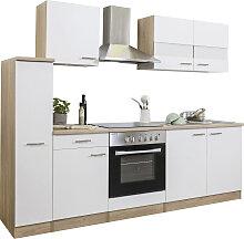 RESPEKTA Küchenzeile, mit E-Geräten, Breite 240
