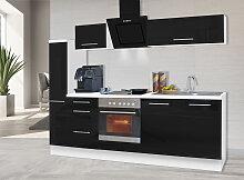 RESPEKTA Küchenzeile RP240, mit E-Geräten,