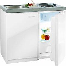 RESPEKTA Miniküche, mit DUO Kochmulde und