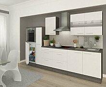 respekta Premium Einbau Küche Küchenzeile 300 cm
