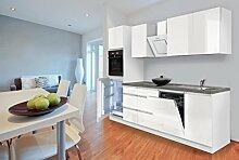 respekta Premium grifflose Küche Leerblock