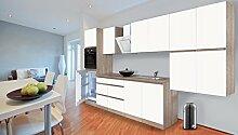 respekta Premium grifflose Küchenzeile Küche 370
