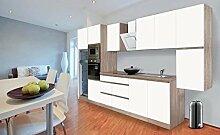 respekta Premium grifflose Küchenzeile Küche 385
