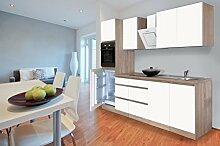 respekta Premium grifflose Küchenzeile Küche