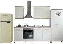 respekta-Premium-Retro-Küchenblock, ca. 330 cm
