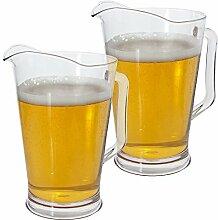 Restaurant Qualität Kunststoff 64oz Wasser/Bier