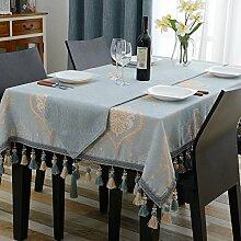 Restaurant staubdicht tischdecke,Baumwoll-leinen