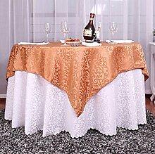 Restaurant Tischdecke Double-style European Tischdecke Tuch Pastoral Tischdecke, Tischdecke Decke Handtuch Tisch Tuch Anzug Hotel Tischdecke Tischdecke decke ( Farbe : B , größe : 2.0 m round )